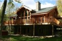 Luxury Log Home - Mont Tremblant - Your Luxury Log Home Located on Over 1 Acre of Your Own Private Land!