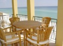 3 Levels of Balconies Overlooking the Beach! - 2nd floor balcony looking at Gulf