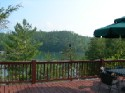 Lake Fontana Lake Front Rental - Deck View